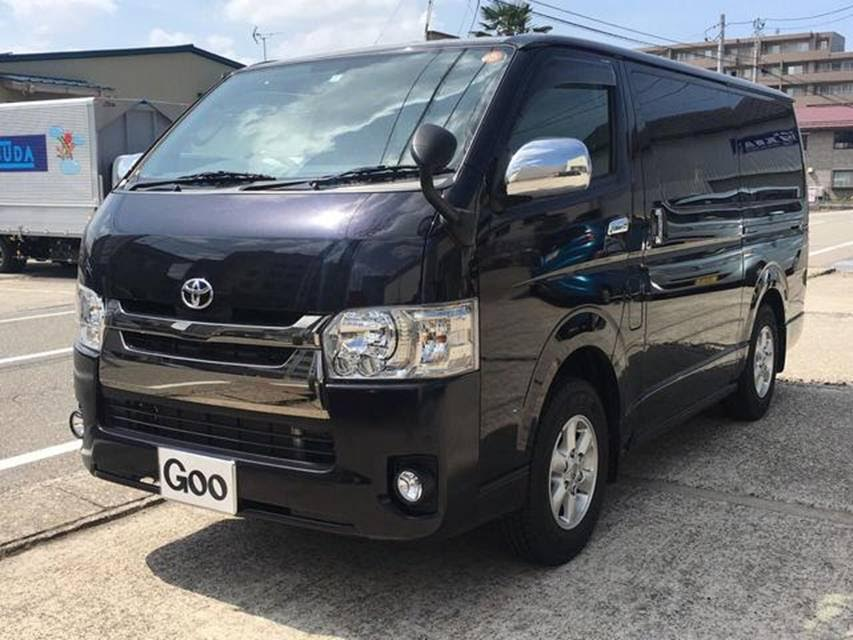 1a5af337e9 Toyota Hiace Super GL 4WD 2015 3000 Cc Diesel Engine Automatic Transmission  Black Other Vehicles